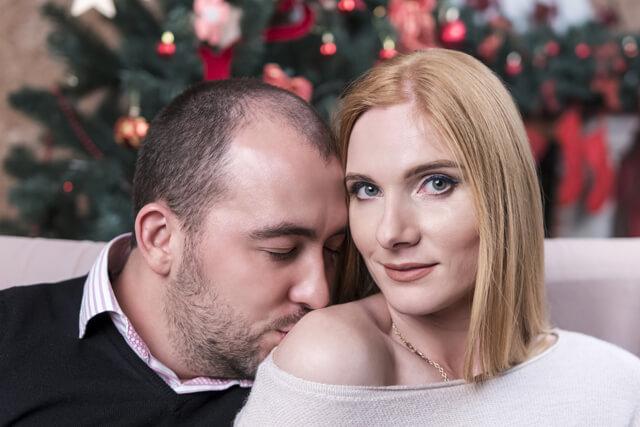 薄毛のカップル